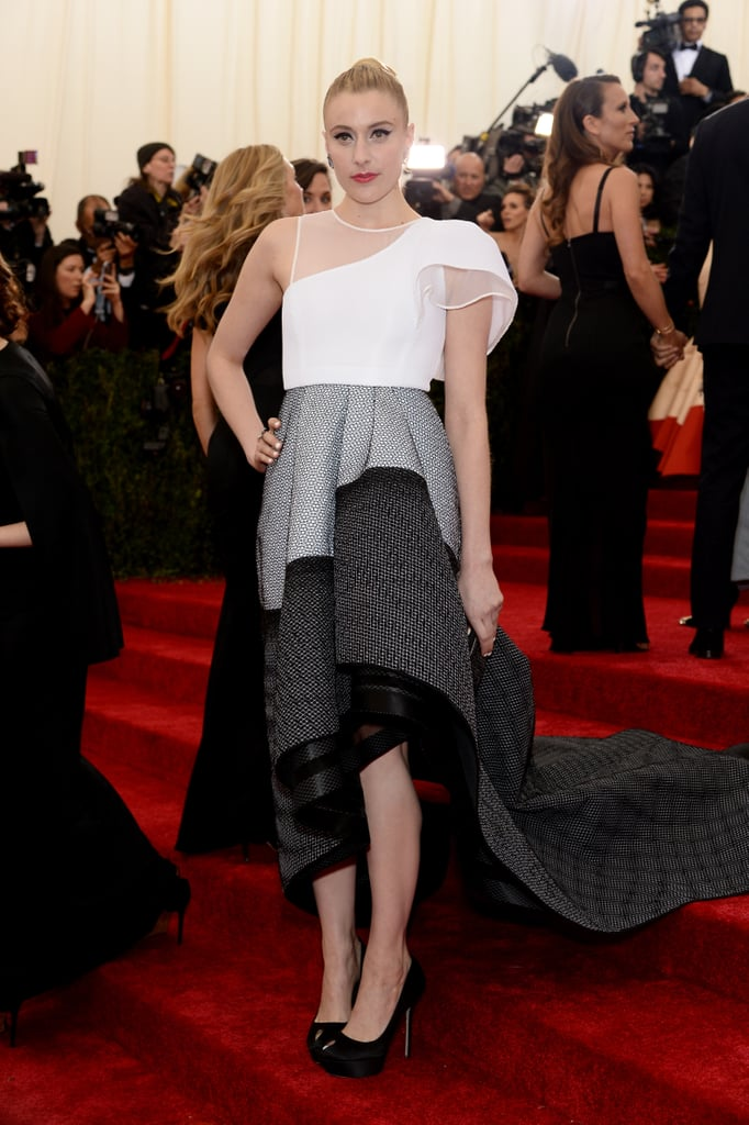 Greta Gerwig at the 2014 Met Gala