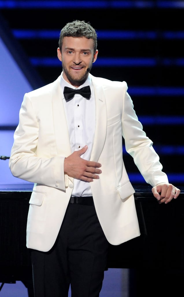 While hosting the 2008 ESPY Awards, Justin Timberlake brought formality to the affair with a dinner jacket.