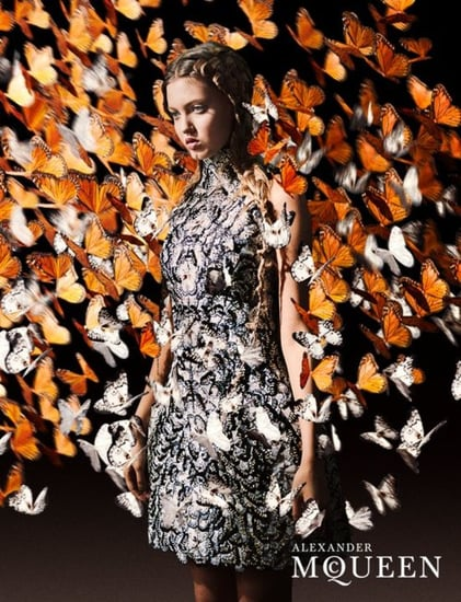 Lindsey Wixson Fronts Alexander McQueen's Spring Ad Campaign