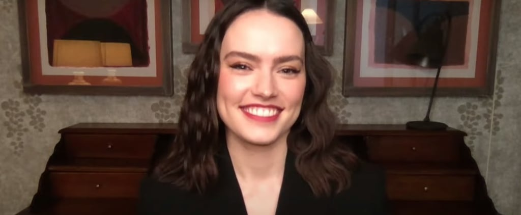 Daisy Ridley Dishes Details on The Great Celebrity Bake Off