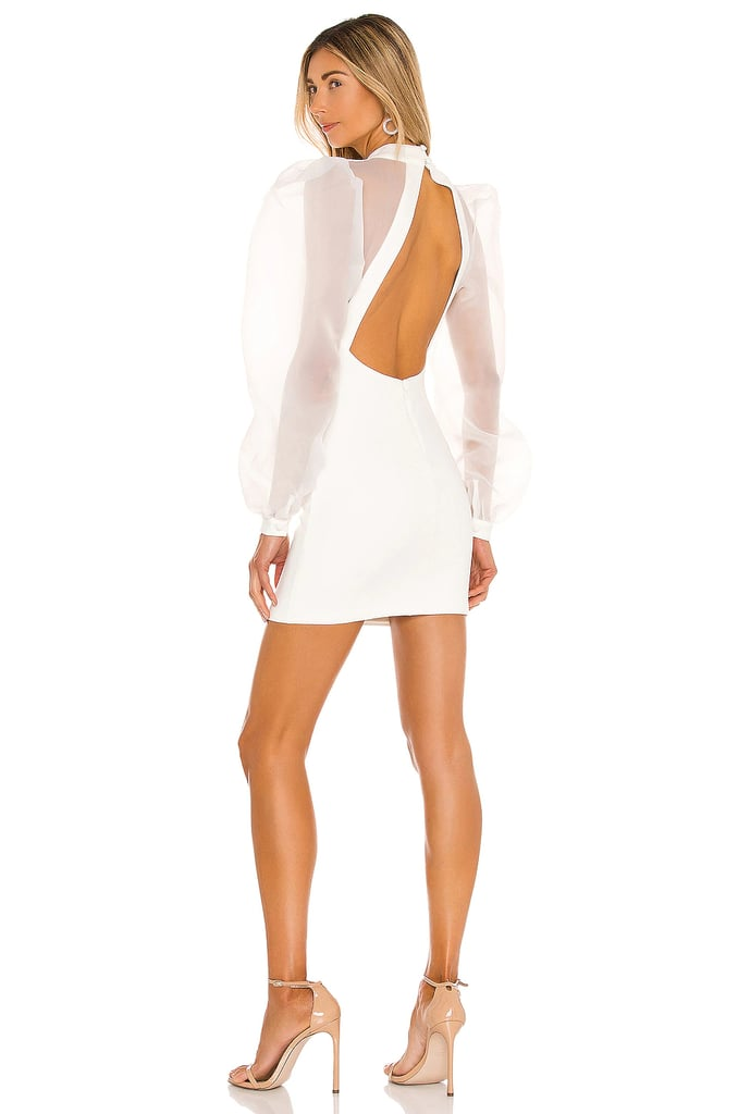 NBD Bao Dress in Ivory