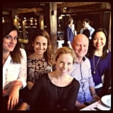 The Sugar team with our sales director Ben, who sadly left the company mid-year. Sob.