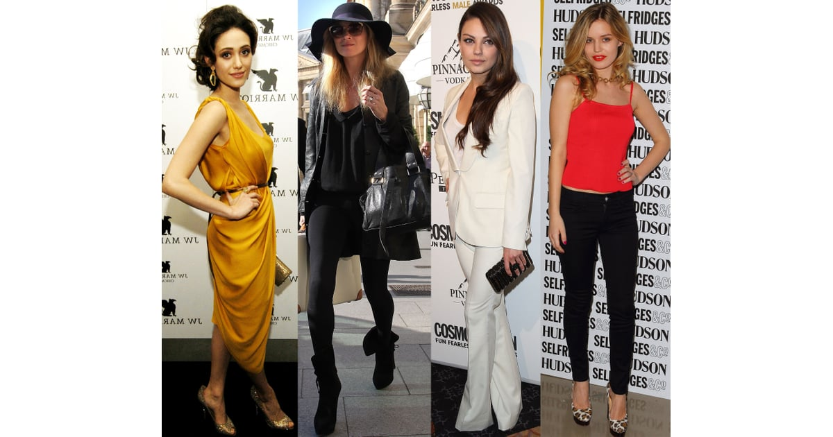 Top Celebrity Style Looks From The Week Popsugar Fashion