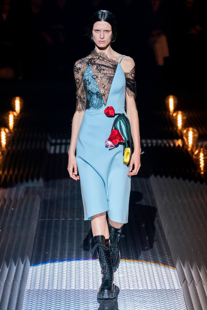 Prada's Fall Runway Delivers Big on Our Favorite Things