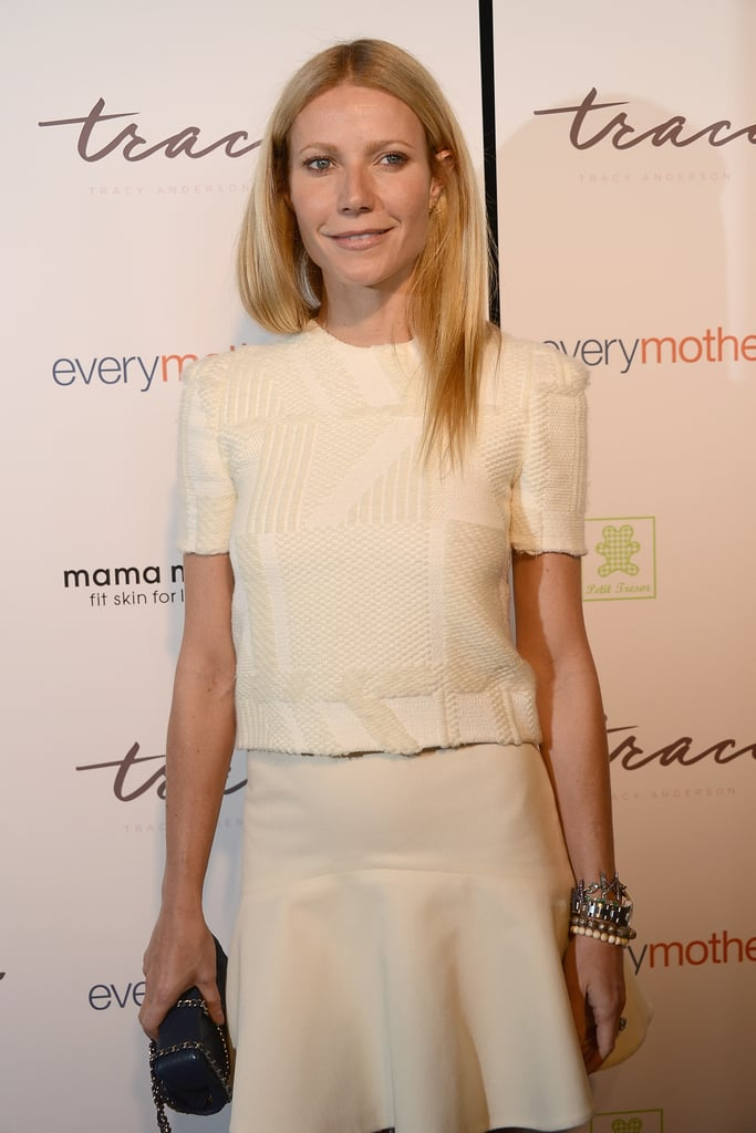 Gwyneth Paltrow stepped out for an event in NYC today.