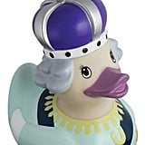The queen will never be missed at bath time if her royal grandchild has a Queen Duck ($22) floating around the tub.