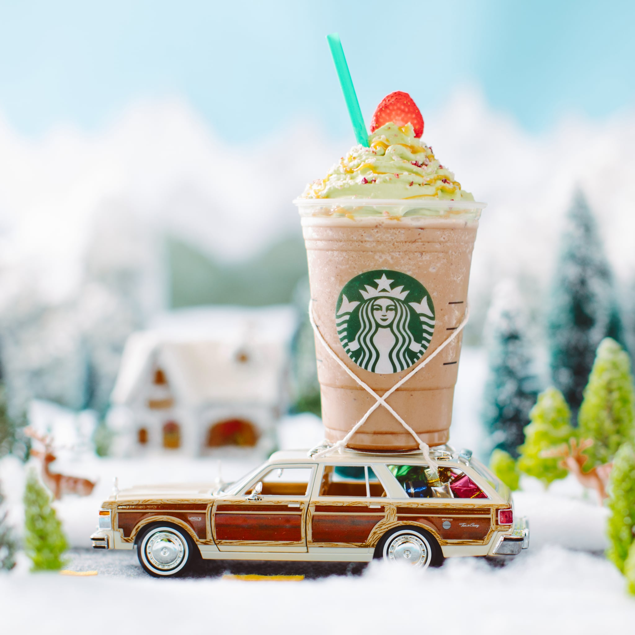 What S In The Christmas Tree Frappuccino Popsugar Food