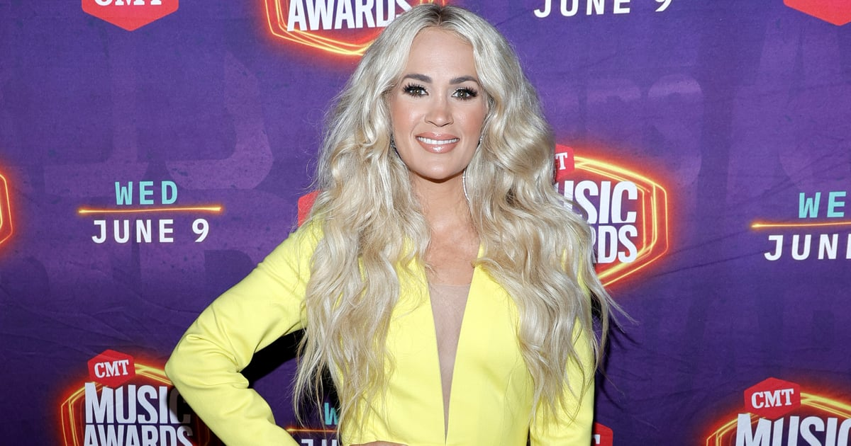 Carrie Underwood Looks Like a Beam of Sunshine at the 2021 CMT Awards.jpg