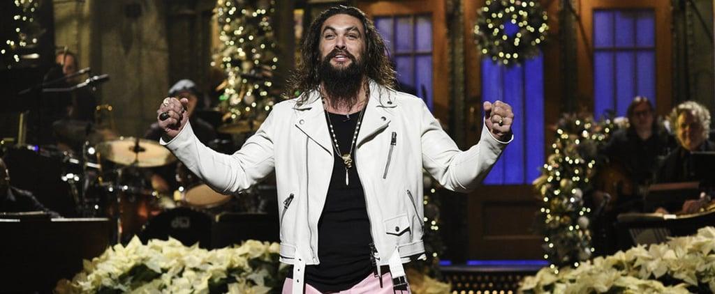 Jason Momoa Saturday Night Live Skits 2018