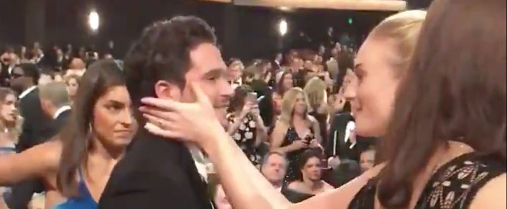 Sophie Turner Kit Harington Game of Thrones Reunion at Emmys