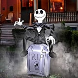 Jack Skellington on Tombstone Airblown Inflatable