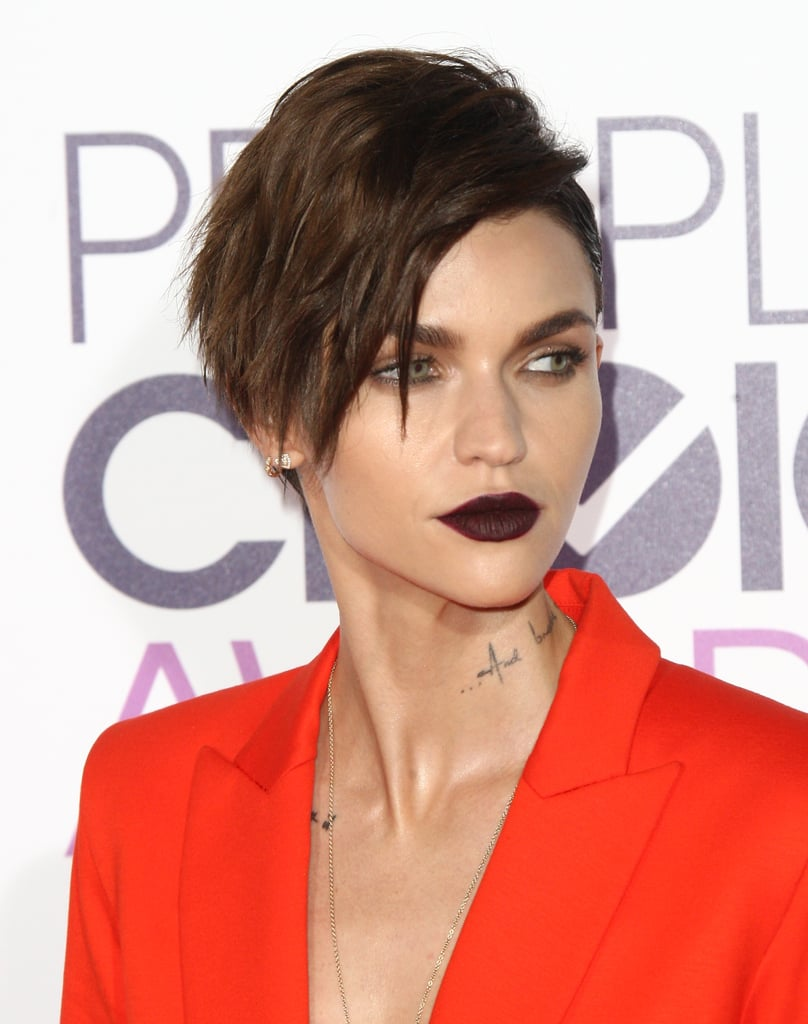 Ruby Rose's Moody Lip at the People's Choice Awards Is Impossibly Sexy