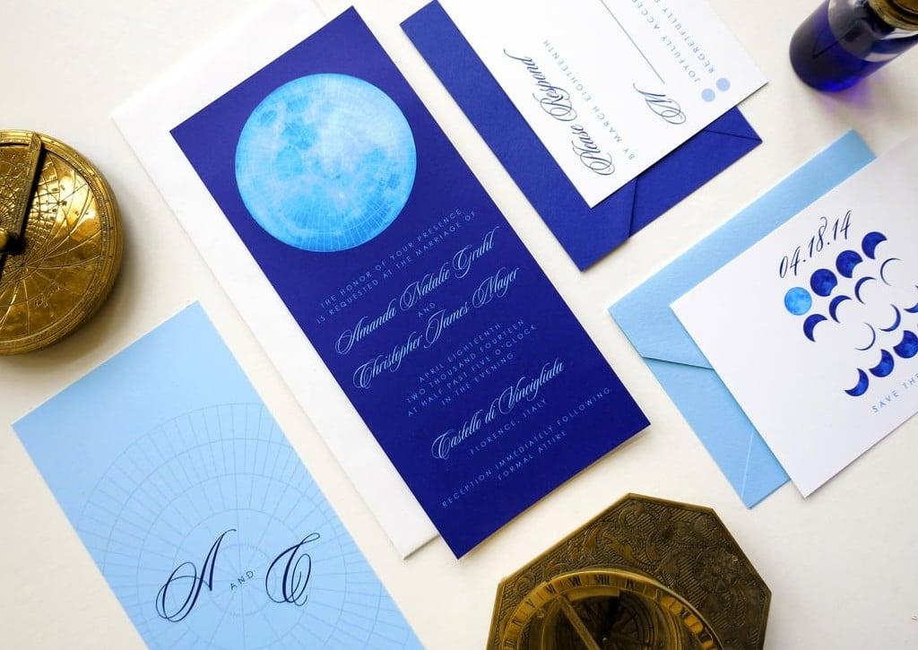 Zodiac Wedding Stationery