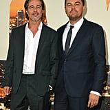 Brad Pitt and Leonardo DiCaprio at the Once Upon a Time in Hollywood LA premiere.