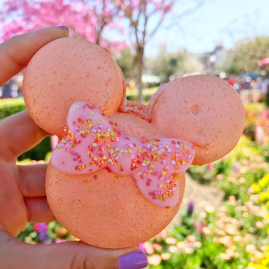Disneyland Rose Gold Minnie Macarons
