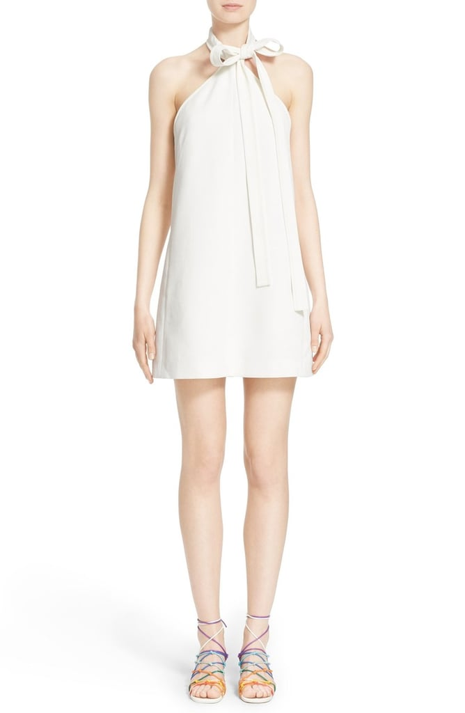 Chloe Tie-Neck Dress ($1,695)