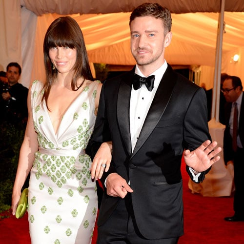 Jessica Biel and Justin Timberlake at Met Gala 2012