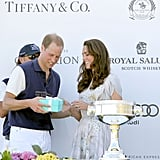 Kate Middleton and Prince William on polo fields in Santa Barbara.