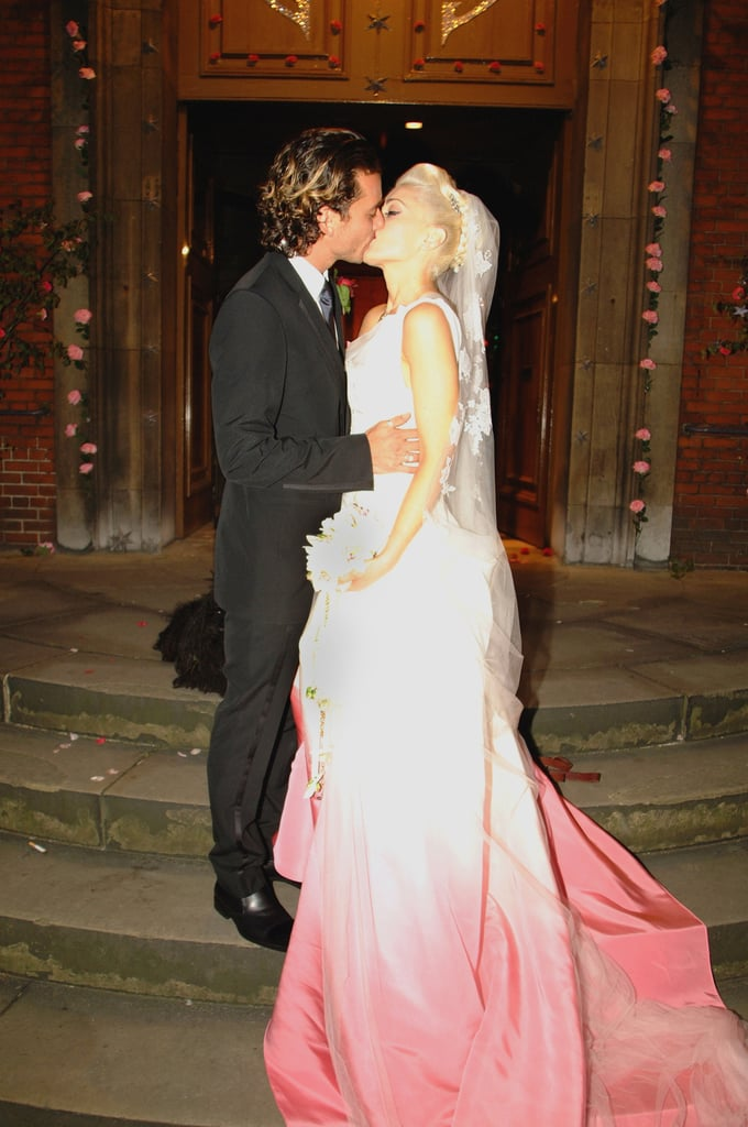 Gwen Stefani\'s John Galliano Gown   Famous Wedding Dresses ...