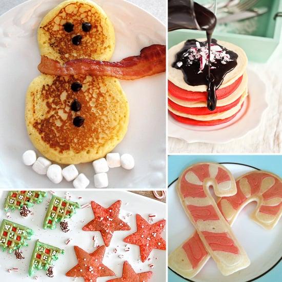 Christmas Breakfast Pancakes For Kids
