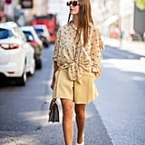 Swap a Skirt For Polished Shorts