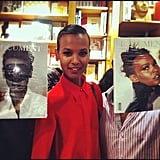 Liya Kebede With Document Journal