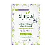 Simple Ultra Calming Sheet Mask