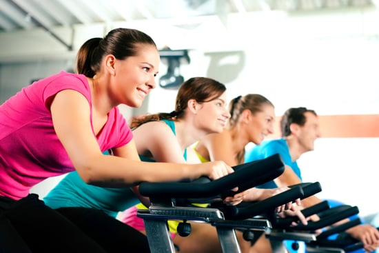 How To Burn Calories On A Stationary Bike Popsugar Fitness