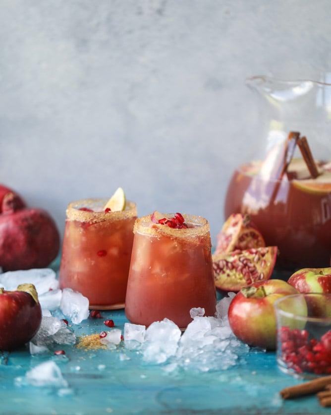 Pomegranate Cider Punch