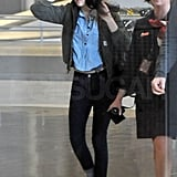 Kristen Stewart landed in Paris.