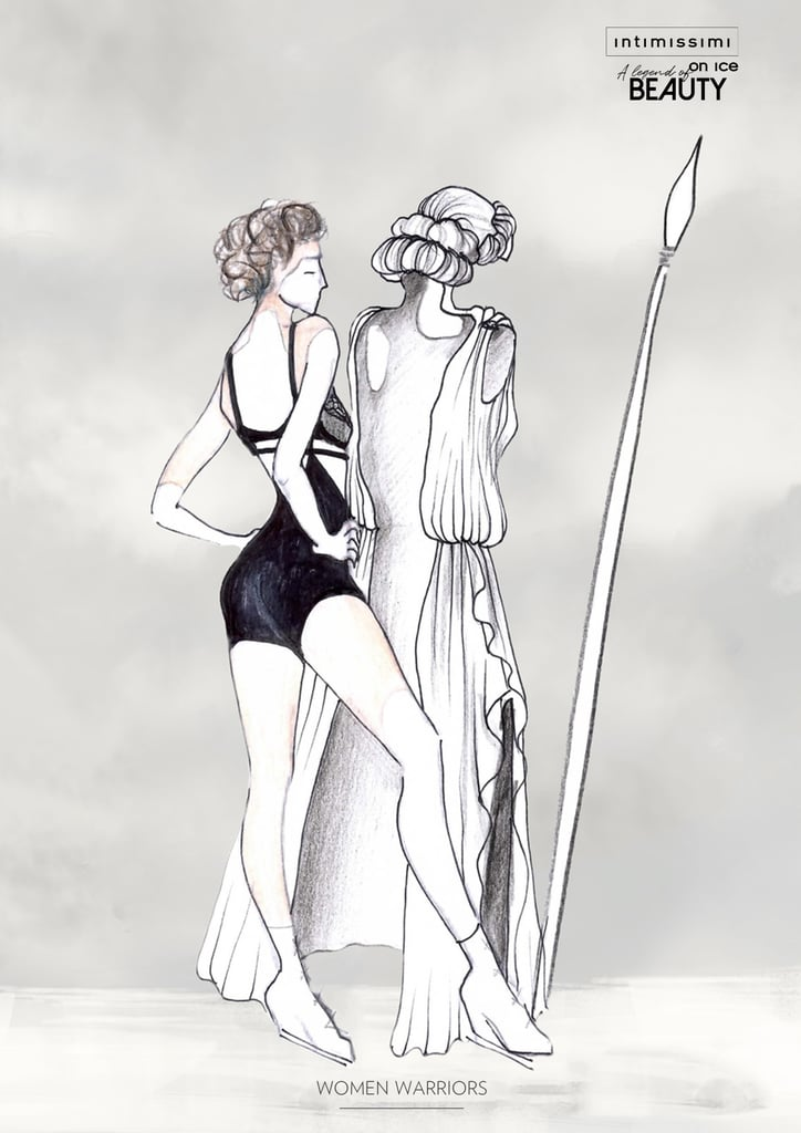The Intimissimi Costumes Were Inspired by Legendary Greek Women
