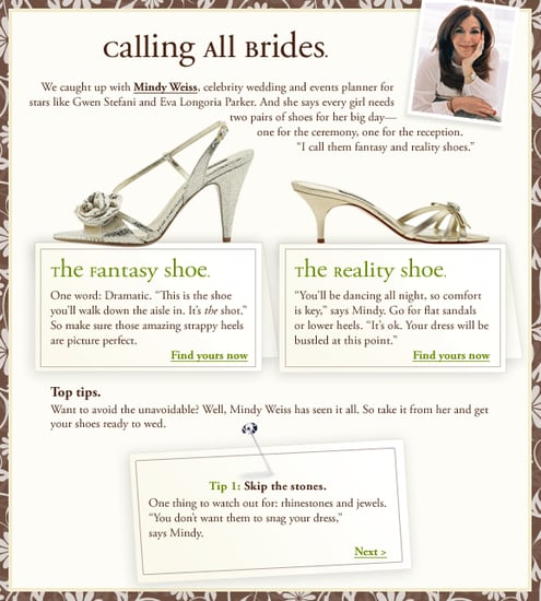 On Our Radar: Piperlime Pairs Up With Celebrity Wedding Planner Mindy Weiss