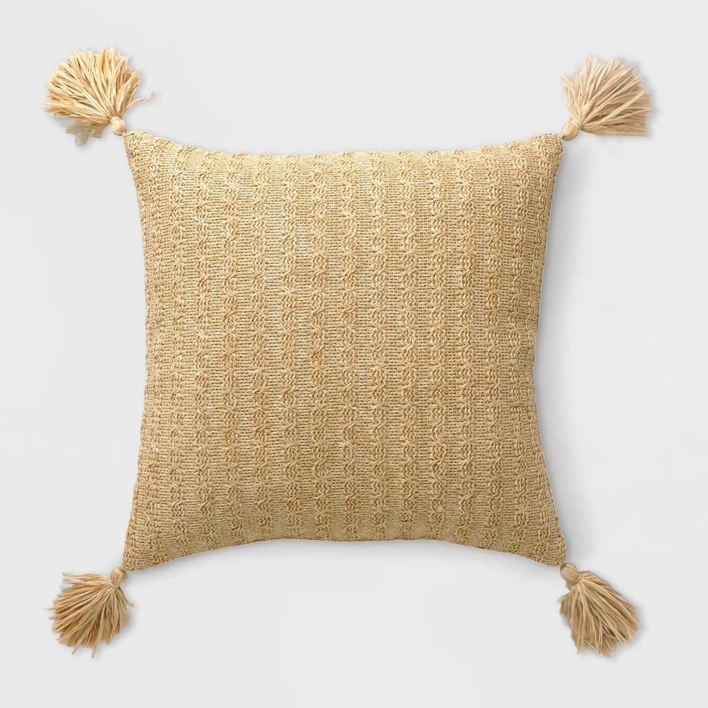 Tassel Outdoor Pillow