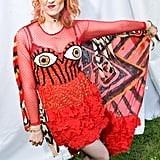 Kate Nash wore a festival-appropriate cape in 2014.      Related:                                                                                                           The Reason That Actress in GLOW Reminds You of Kate Nash Is Because She's Kate Nash