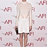 Michelle Williams was polished in Louis Vuitton at the AFI Awards.