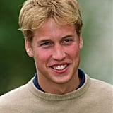 Prince William visited Highgrove in September 2000.