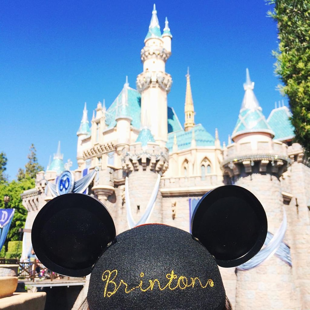 Because those personalized mouse ears just look more adorable on toddlers.