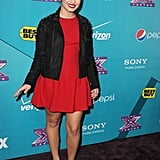 Demi Lovato stepped out in LA to celebrate The X Factor finalists.