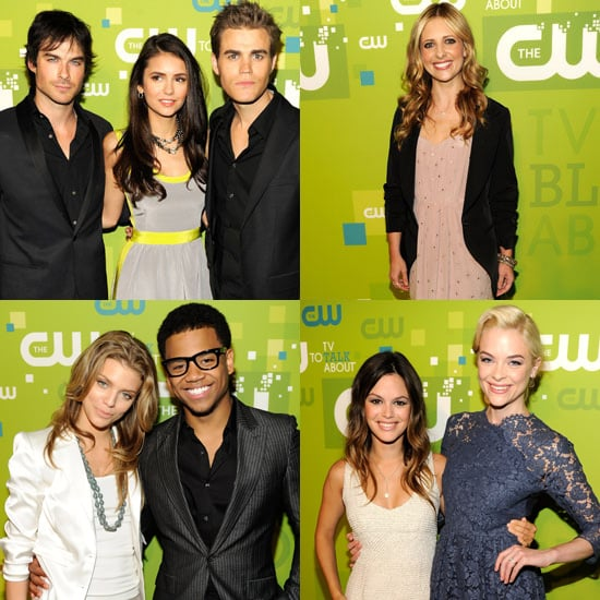 Sarah Michelle Gellar and Rachel Bilson Promote Their New CW Projects 2011-05-19 11:41:40