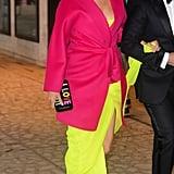 Blake Lively Yellow Oscar de la Renta Gown