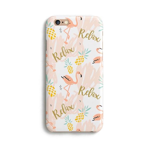 Flamingo Pineapple iPhone Case ($17)