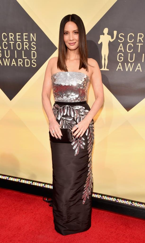 Olivia Munn at the 2018 SAG Awards