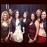 Bethenny Frankel partied with Skinny Girl fans during Fashion's Night Out. Source: Instagram user bethennyfrankel