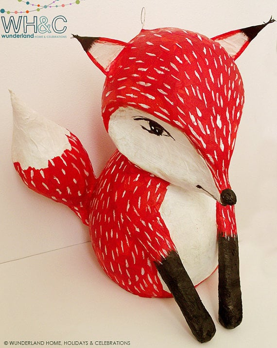 fox by wunderland home 75 pinatas for kids parties popsugar