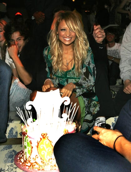 Nicole-surprised-birthday-cake-her-own-during-Teen