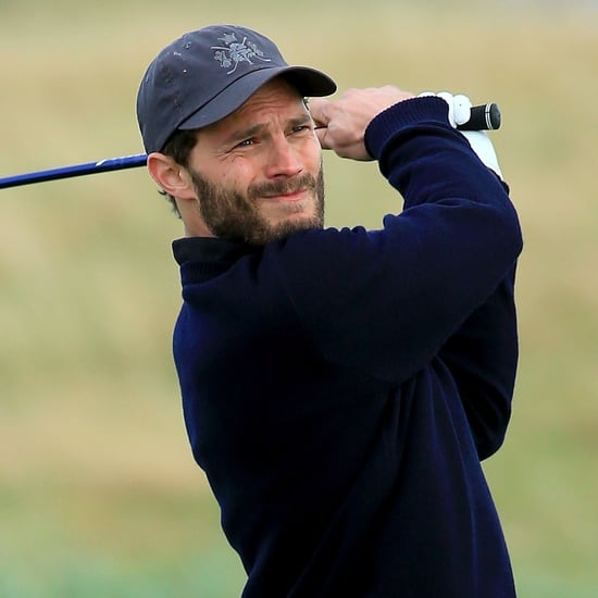 Jamie Dornan Golfing Pictures