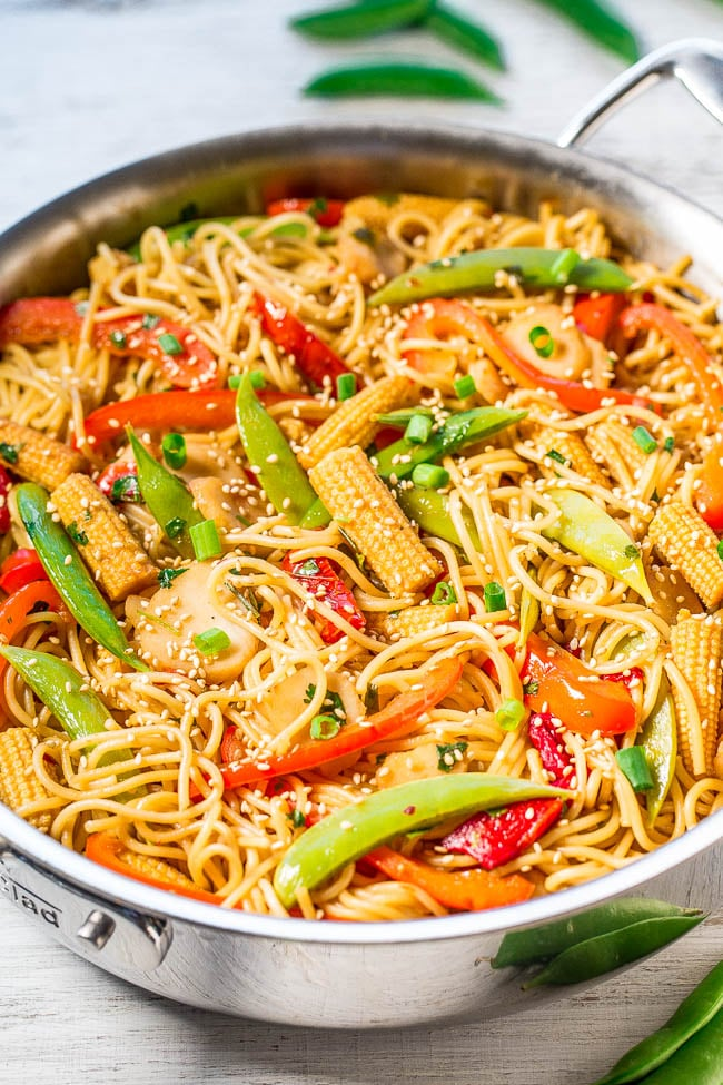 easy sweet and sour asian noodles  asian noodle recipes