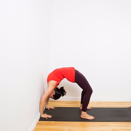 Backbend Using a Wall