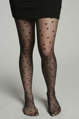 Heart Print Tights for Autumn Winter 2009