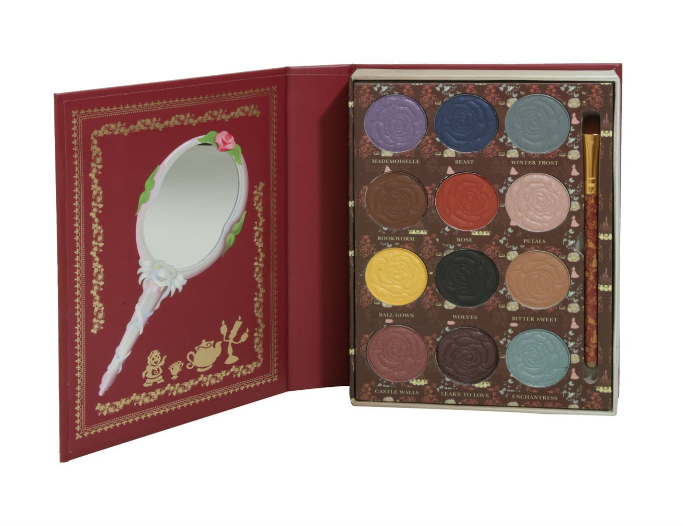 Beauty And The Beast Eye Shadow Palette From Hot Topic Popsugar Beauty